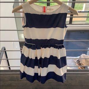 J. Crew girls cotton/silk dress